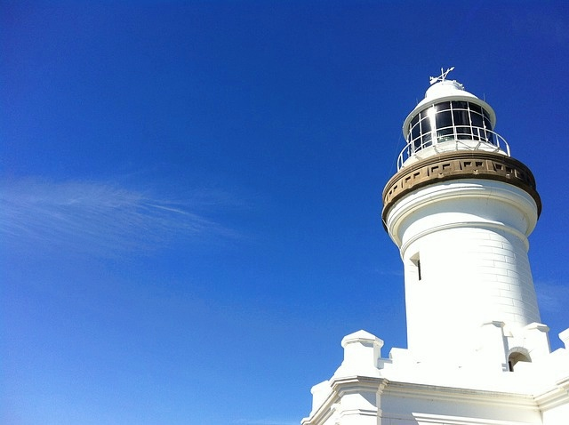 Australia, Byron Bay, Lighthouse