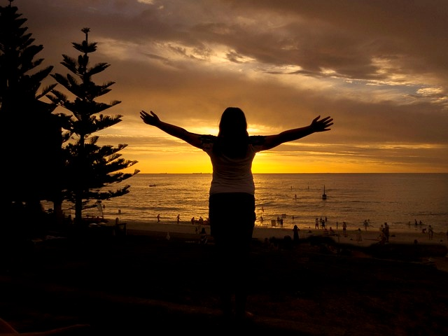 Australia, Cottosloe, Sunset