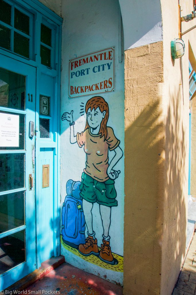Australia, Fremantle, Pirate Backpackers