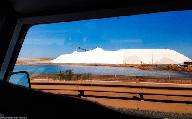 Australia, Port Hedland, Salt Pile