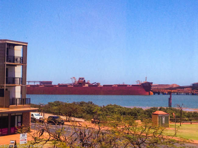 Australia, Port Hedland, Ship