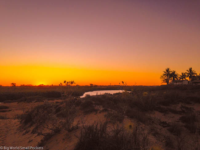 Australia, Port Hedland, Sunset