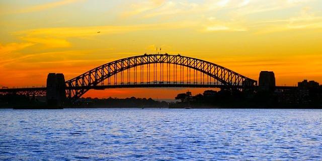 Australia, Sydney, Harbour Bridge