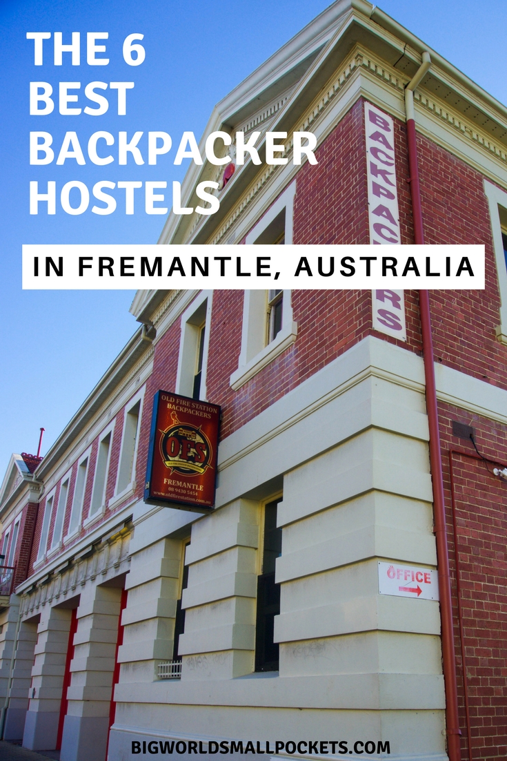 The 6 Best Backpacker Hostels in Fremantle, Western Australia {Big World Small Pockets}