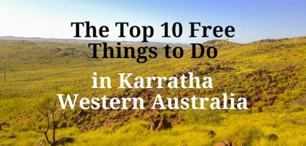 The Top 10 Free Things to Do in Karratha, Western Australia