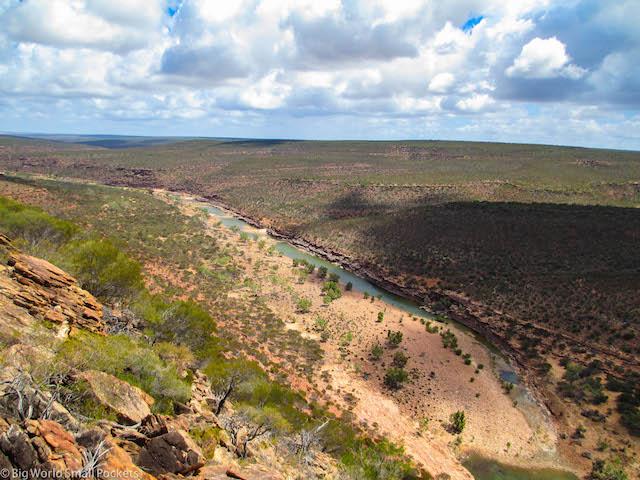 Australia, Kalbarri, River