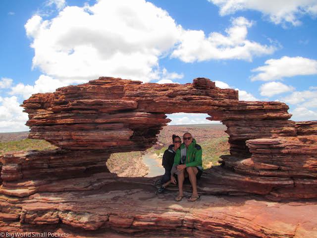 Australia, Kalbarri, Us