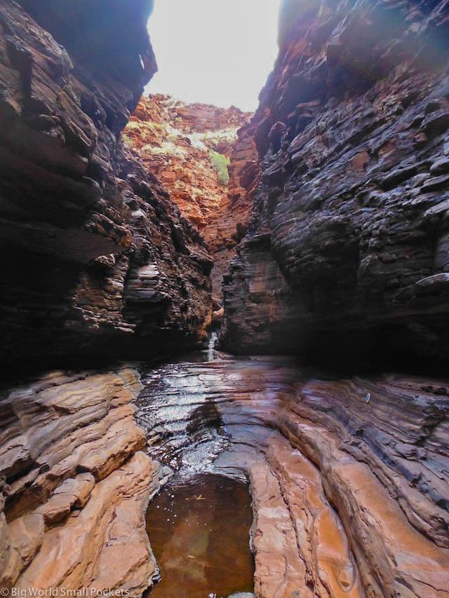 Australia, Karijini, Handrail Pool