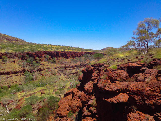 Australia, Karijini, Oxer Lookout