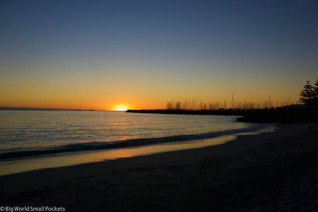 Australia, WA, Sunset
