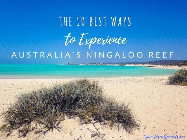 The 10 Best Ways to Experience Australia's Ningaloo Reef