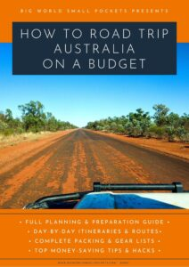 eBook Cover - Road Tripping Australia