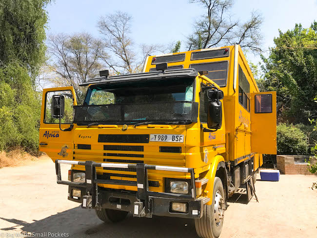 Absolute Africa, Zambia, Big Yellow Truck