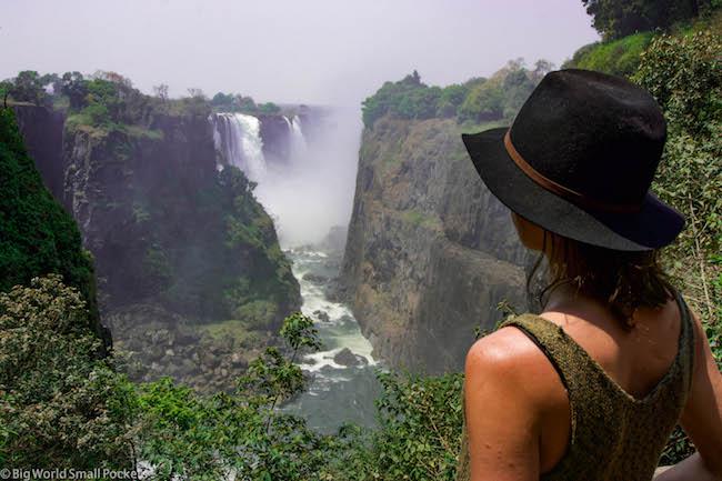 Absolute Africa, Zimbabwe, Victoria Falls Selfie