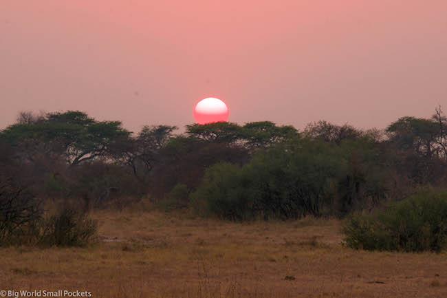 Africa, Zimbabwe, Sunset