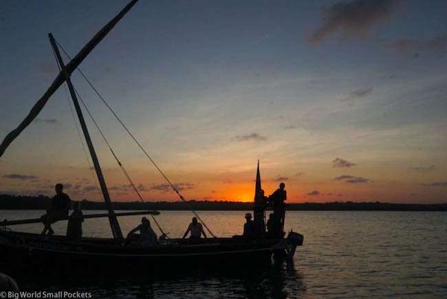 Kenya, Distant Relatives, Dhow Sunset
