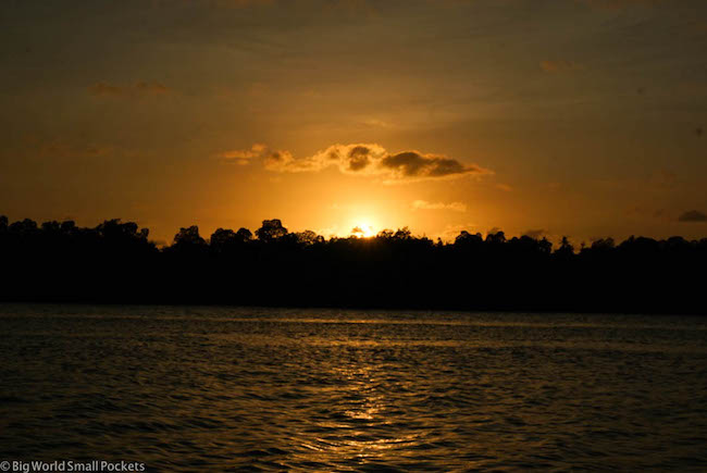 Kenya, Kilifi, Sunset