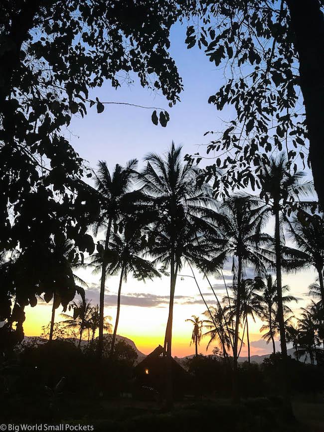 Tanzania, Morogoro, Sunset