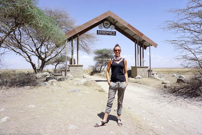 Tanzania, Serengeti, Entrance