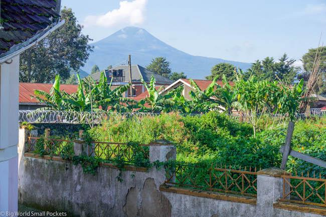 Uganda, Kisoro, Rafiki Guest House View