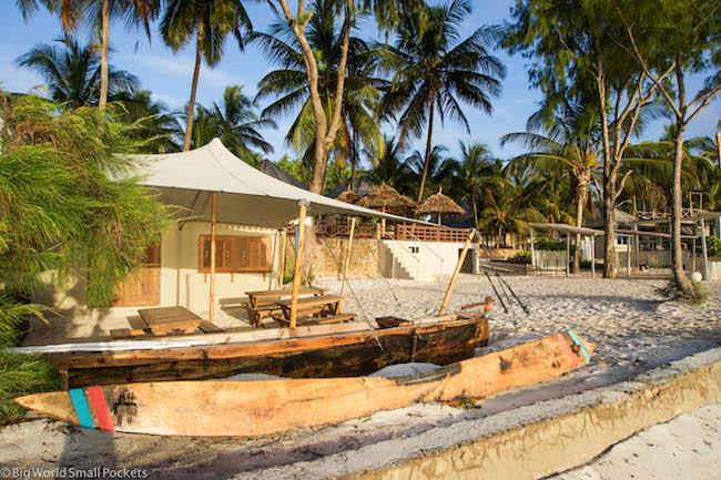 Zanzibar, Bucaneer Diving, Setting