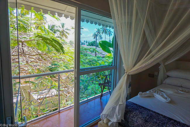 Zanzibar, Paje, Ebb & Flow Balcony View