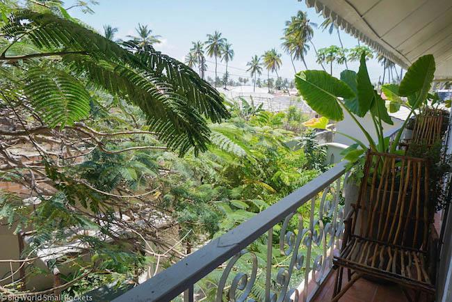 Zanzibar, Paje, Ebb & Flow Balcony