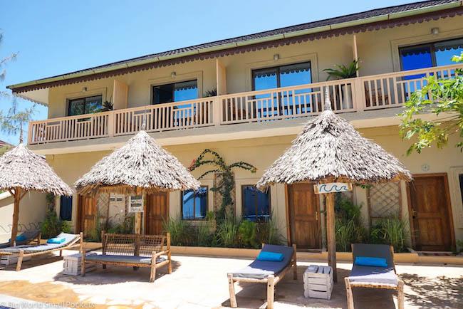 Zanzibar, Paje, Ebb & Flow Pool Area
