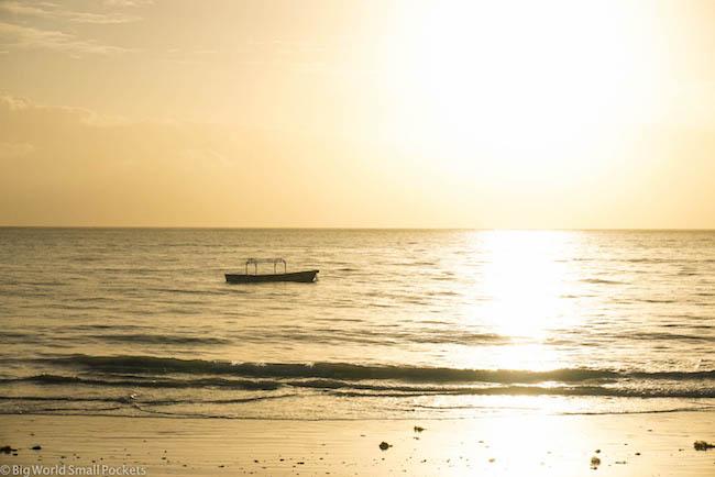 Zanzibar, Paje, Sunrise Boat