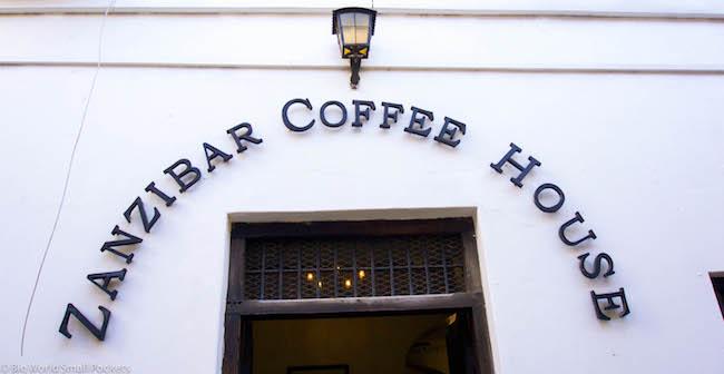 Zanzibar, Stone Town, Coffee House