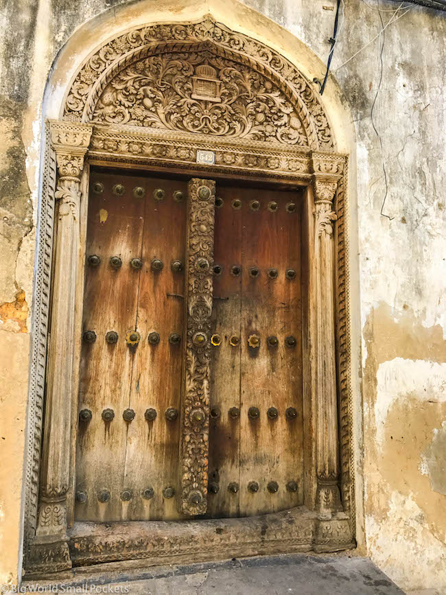Zanzibar, Stone Town, Doorway