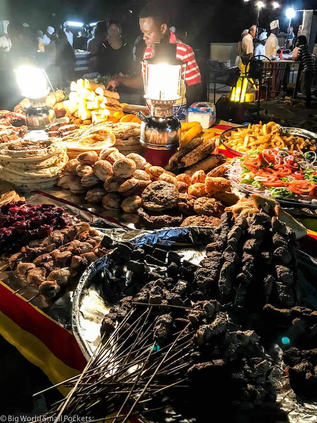 Zanzibar, Stone Town, Forodhani Food Market
