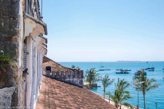 Zanzibar, Stone Town, Ocean Views