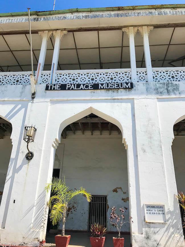 Zanzibar, Stone Town, Palace Museum