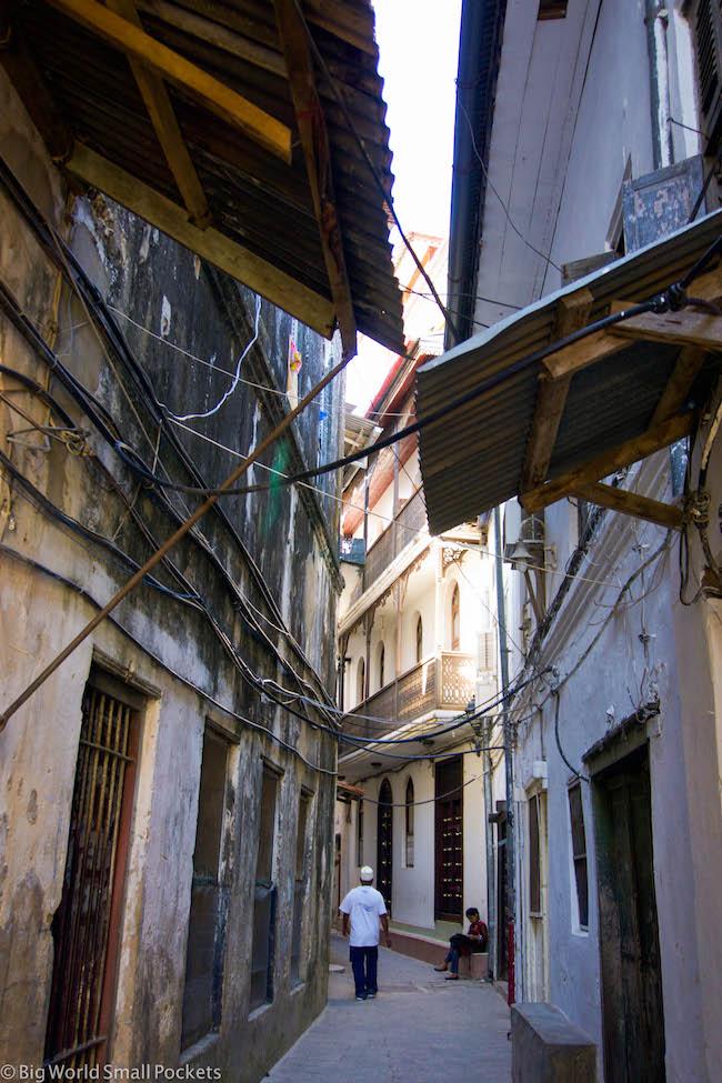 Zanzibar, Stone Town, Street