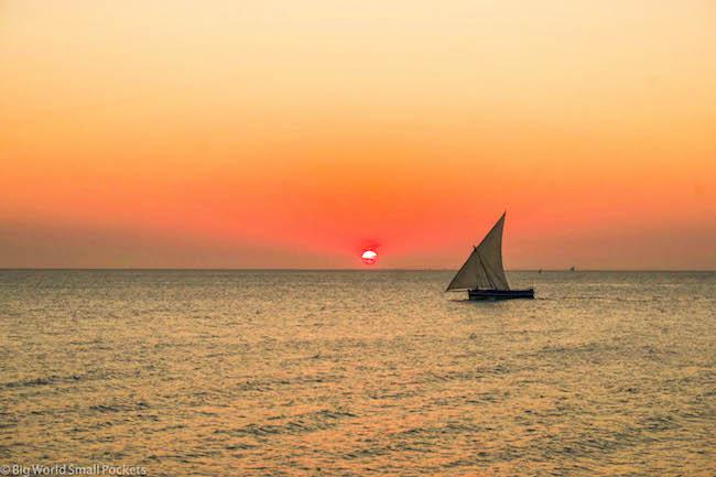 Zanzibar, Stone Town, Sunset