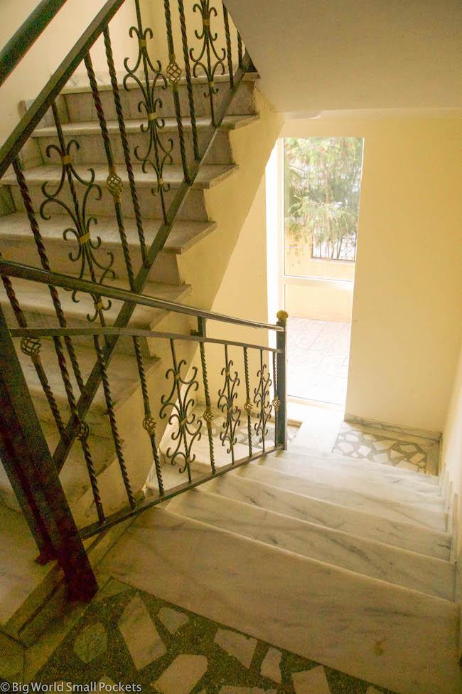 Addis Ababa, Ethiopia Hostel, Stairwell