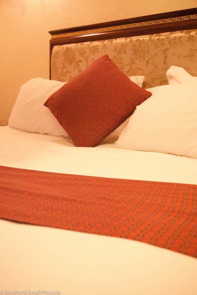 Ethiopia, Bahar Dar, Solyana Hotel Deluxe Bed