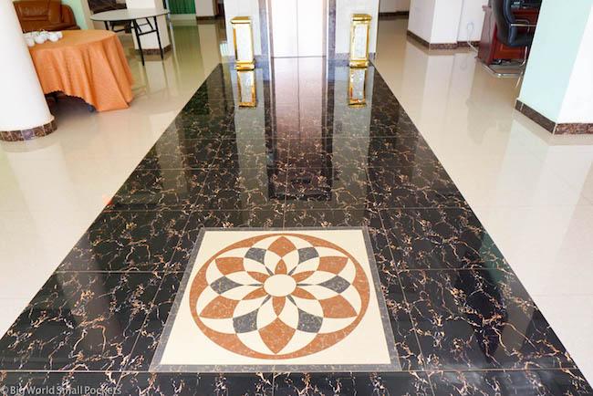 Ethiopia, Bahar Dar, Solyana Hotel Lobby