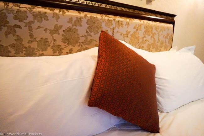 Ethiopia, Bahar Dar, Solyana Hotel Pillows