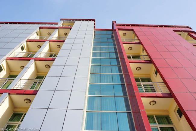 Ethiopia, Bahar Dar, Solyana Hotel Side