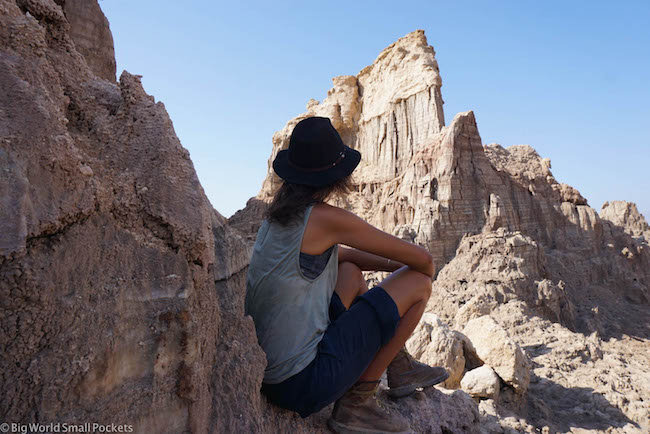 Ethiopia, Danakil Depression, Dallol Me Hiking