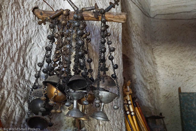 Ethiopia, Tigray, St George's Church Religious Objects