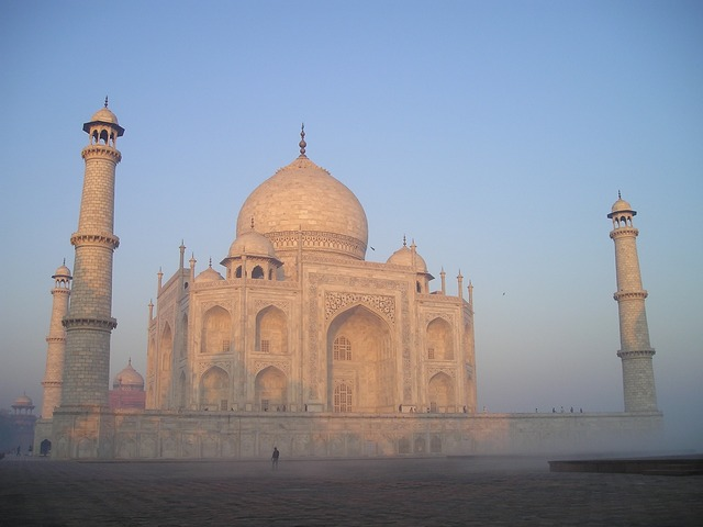 India, Taj Mahal, Landscape