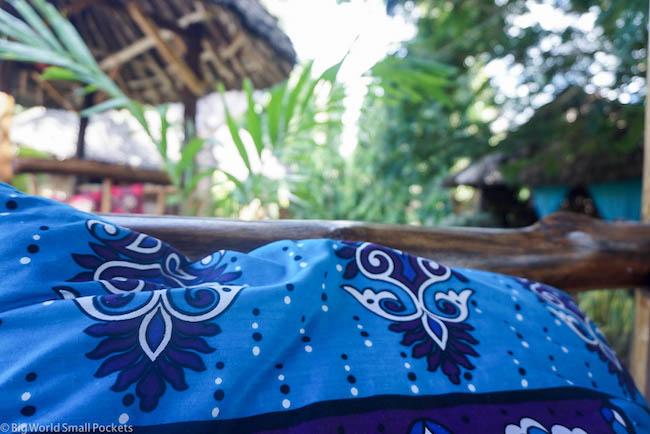 Kenya, Diani Backpackers, Cushions