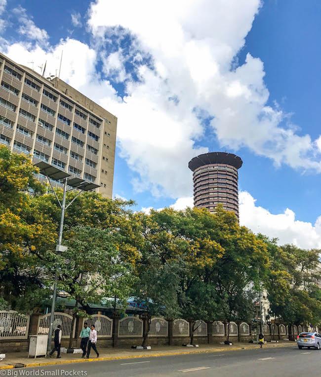 Kenya, Nairobi, KICC Building