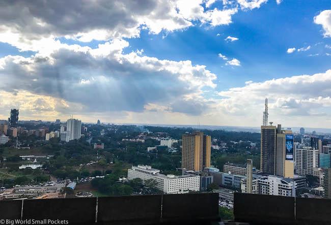 Kenya, Nairobi, KICC View