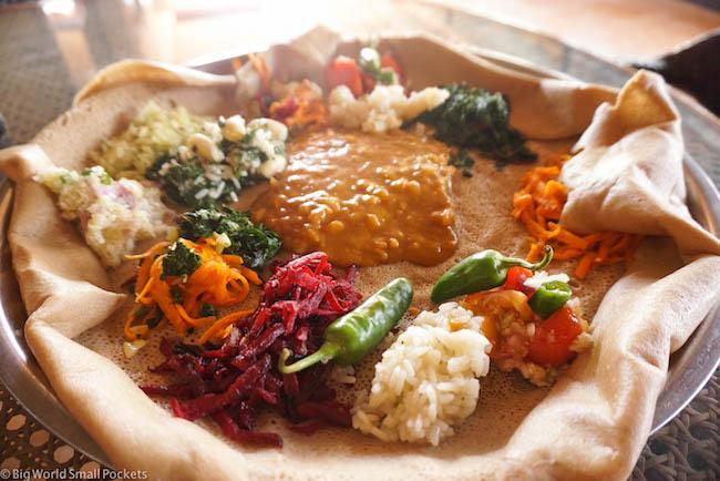 Lalibela, Red Rock Hotel, Food