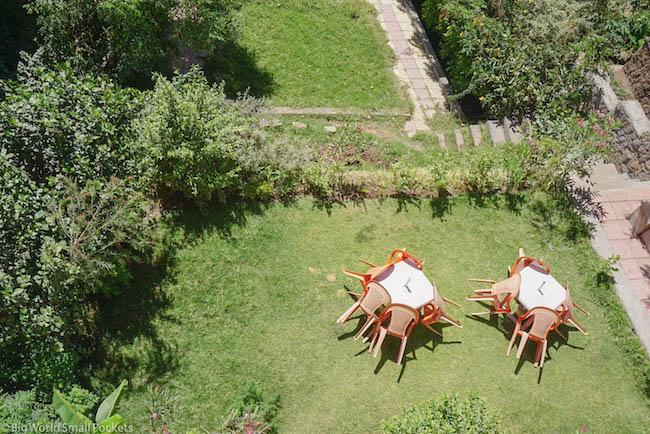 Lalibela, Red Rock Hotel, Garden