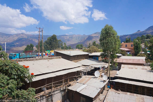 Lalibela, Red Rock Hotel, View 2